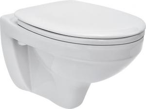 Pachet Complet Sistem WC Suspendat Cersanit Delphi - Gata de Montaj - Cadru fixare + Rezervor Ingropat, Clapeta Alba, Vas WC si Capac WC4