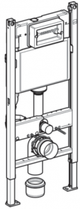 Pachet Complet Sistem WC Suspendat Geberit + Kolo Nova PRO Rimfree - Gata de Montaj - Cadru fixare + Rezervor Ingropat, Clapeta Crom, Vas WC si Capac WC  Softclose13