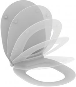 Pachet Complet Sistem WC Suspendat Ideal Standard Connect Air Aquablade - Gata de Montaj - Cadru fixare + Rezervor Ingropat, Clapeta Crom, Vas WC si Capac WC Softclose6