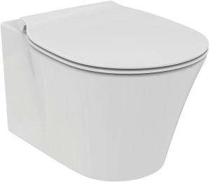 Pachet Complet Sistem WC Suspendat Ideal Standard Connect Air Aquablade - Gata de Montaj - Cadru fixare + Rezervor Ingropat, Clapeta Crom, Vas WC si Capac WC Softclose3