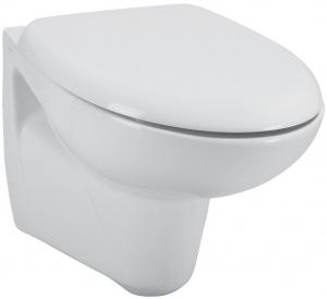 Pachet Complet Sistem WC Suspendat Ideal Standard cu functie de bideu - Gata de Montaj - Cadru fixare + Rezervor Ingropat, Clapeta Crom, Vas WC, Baterie Incastrata si Capac WC2