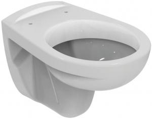Pachet Complet Sistem WC Suspendat Ideal Standard - Gata de Montaj - Cadru fixare + Rezervor Ingropat, Clapeta Crom, Vas WC si Capac WC1