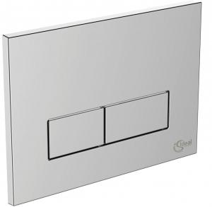 Pachet Complet Sistem WC Suspendat Ideal Standard - Gata de Montaj - Cadru fixare + Rezervor Ingropat, Clapeta Crom, Vas WC si Capac WC5