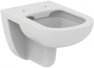 Pachet Complet Sistem WC Suspendat Ideal Standard Tempo Rimless - Gata de Montaj - Cadru fixare + Rezervor Ingropat, Clapeta Crom, Vas WC si Capac WC 1