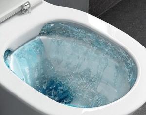Pachet Complet Sistem WC Suspendat Ideal Standard Tempo Rimless - Gata de Montaj - Cadru fixare + Rezervor Ingropat, Clapeta Crom, Vas WC si Capac WC 7