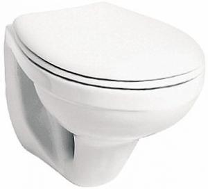 Pachet Complet Sistem WC Suspendat Kolo Idol - Gata de Montaj - Cadru fixare + Rezervor Ingropat, Clapeta Alba, Vas WC si Capac WC [1]