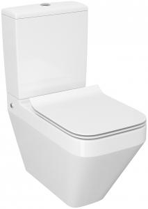 Pachet Complet Toaleta Cersanit Crea Rectangular - Vas WC, Rezervor, Armatura, Capac Slim & Soft, Set de Fixare [1]
