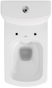 Pachet Complet Toaleta Cersanit Easy CleanON - Vas WC, Rezervor, Armatura, Capac Softclose, Set de Fixare1
