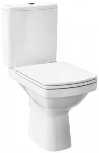 Pachet Complet Toaleta Cersanit Easy CleanON - Vas WC, Rezervor, Armatura, Capac Softclose, Set de Fixare0
