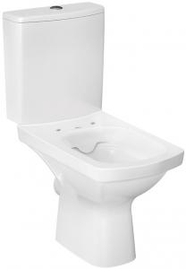 Pachet Complet Toaleta Cersanit Easy CleanON - Vas WC, Rezervor, Armatura, Capac Softclose, Set de Fixare2