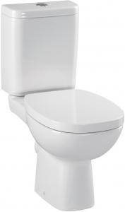 Pachet Complet Toaleta Cersanit Facile - Vas WC, Rezervor, Armatura, Capac, Set de Fixare [0]