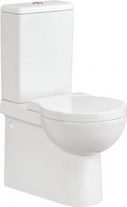 Pachet Complet Toaleta Cersanit Nano - Vas WC, Rezervor, Armatura, Capac Softclose, Set de Fixare0