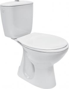 Pachet Complet Toaleta Cersanit President - Vas WC, Rezervor, Armatura, Capac, Set de Fixare - Model 20