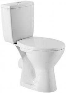 Pachet Complet Toaleta Cersanit Senator - Vas WC, Rezervor, Armatura, Capac, Set de Fixare [0]