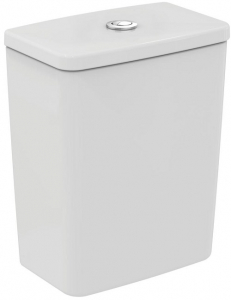 Pachet Complet Toaleta Ideal Standard Connect Air Aquablade Back-to-Wall - Vas WC, Rezervor, Armatura, Capac Slim, Set de Fixare2
