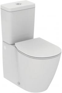 Pachet Complet Toaleta Ideal Standard Connect Back-to-Wall - Vas WC, Rezervor, Armatura, Capac Slim, Set de Fixare0