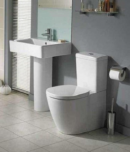 Pachet Complet Toaleta Ideal Standard Connect Back-to-Wall - Vas WC, Rezervor, Armatura, Capac Slim, Set de Fixare1