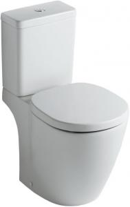 Pachet Complet Toaleta Ideal Standard Connect Cube - Vas WC, Rezervor, Armatura, Capac Softclose, Set de Fixare [0]