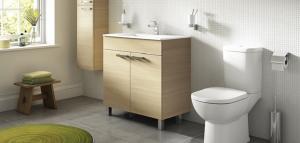 Pachet Complet Toaleta Ideal Standard Tempo - Vas WC, Rezervor, Armatura, Capac, Set de Fixare - Model 11