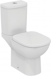 Pachet Complet Toaleta Ideal Standard Tempo - Vas WC, Rezervor, Armatura, Capac, Set de Fixare - Model 10