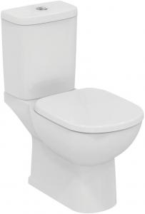Pachet Complet Toaleta Ideal Standard Tempo - Vas WC, Rezervor, Armatura, Capac, Set de Fixare - Model 20