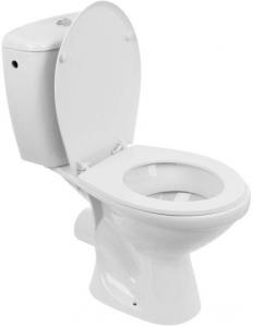Pachet Complet Toaleta Kolo Idol - Vas WC, Rezervor, Armatura, Capac, Set de Fixare1