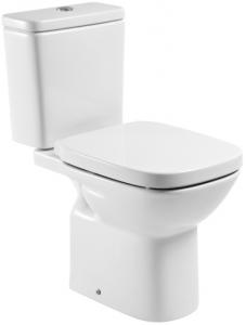 Pachet Complet Toaleta Roca Debba - Vas WC, Rezervor, Armatura, Capac Softclose, Set de Fixare [0]