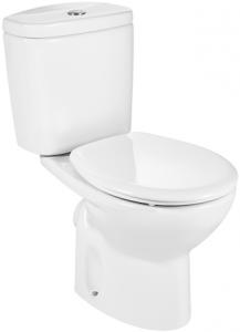 Pachet Complet Toaleta Roca Victoria - Vas WC, Rezervor, Armatura, Capac, Set de Fixare - Model 10