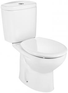 Pachet Complet Toaleta Roca Victoria - Vas WC, Rezervor, Armatura, Capac, Set de Fixare - Model 20