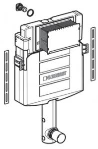 Rezervor incastrat Geberit Sigma UP320 - Pentru vase Back-to-Wall1
