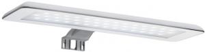 Set complet Roca Debba 600 - Lavoar + Mobilier + Oglinda + Lampa LED + Sifon - Wenge deschis3