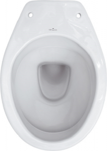 Vas WC pe pardoseala Cersanit President - Pentru rezervor la semi-inaltime - Scurgere laterala4