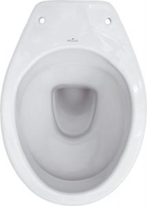 Vas WC pe pardoseala Cersanit President - Pentru rezervor la semi-inaltime - Scurgere laterala1