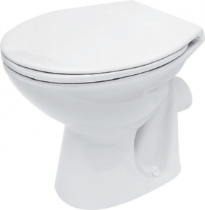 Vas WC pe pardoseala Cersanit President - Pentru rezervor la semi-inaltime - Scurgere laterala3