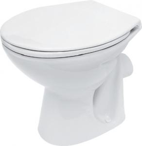 Vas WC pe pardoseala Cersanit President - Pentru rezervor la semi-inaltime - Scurgere laterala0