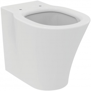 Vas WC pe pardoseala Ideal Standard Connect Air Aquablade - Back-to-Wall - Pentru rezervor incastrat0