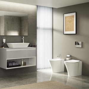Vas WC pe pardoseala Ideal Standard Connect Air Aquablade - Back-to-Wall - Pentru rezervor incastrat4