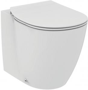 Vas WC pe pardoseala Ideal Standard Connect Aquablade - Back-to-Wall - Pentru rezervor incastrat0