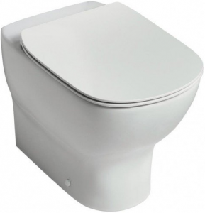 Vas WC pe pardoseala Ideal Standard Tesi Aquablade - Back-to-Wall - Pentru rezervor incastrat2