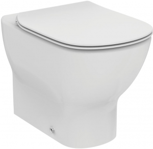 Vas WC pe pardoseala Ideal Standard Tesi Aquablade - Back-to-Wall - Pentru rezervor incastrat0