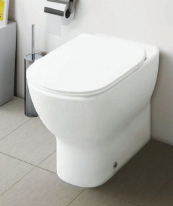 Vas WC pe pardoseala Ideal Standard Tesi Aquablade - Back-to-Wall - Pentru rezervor incastrat6