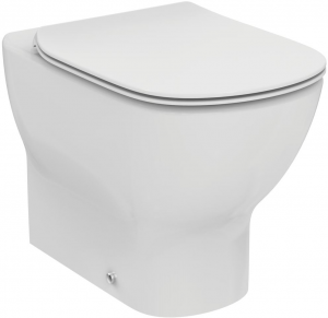 Vas WC pe pardoseala Ideal Standard Tesi - Back-to-Wall - Pentru rezervor incastrat0
