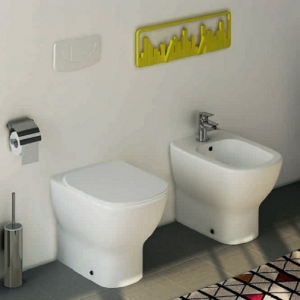 Vas WC pe pardoseala Ideal Standard Tesi - Back-to-Wall - Pentru rezervor incastrat3