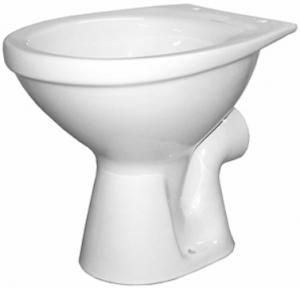 Vas WC pe pardoseala Kolo Idol - Pentru rezervor la semi-inaltime - Scurgere laterala0