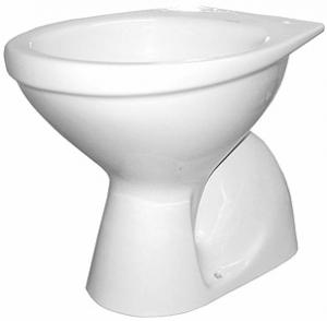 Vas WC pe pardoseala Kolo Idol - Pentru rezervor la semi-inaltime - Scurgere pardoseala0