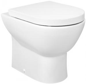 Vas WC pe pardoseala Roca Tipo Compact - Back-to-Wall - Pentru rezervor incastrat0