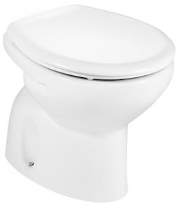 Vas WC pe pardoseala Roca Victoria - Pentru rezervor la semi-inaltime -  Scurgere in pardoseala0