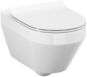Vas WC Suspendat Cersanit Crea Oval - CleanON [2]