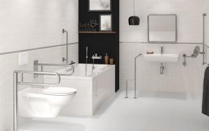 Vas WC Suspendat Cersanit Etiuda - CleanON - pentru persoane cu disabilitati4