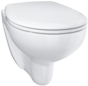 Vas WC Suspendat Grohe Bau Ceramic Rimless + Capac softclose6